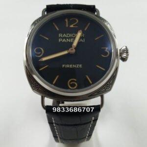 Luminor Panerai Hand Engraved Firenze Swiss Automatic Watch