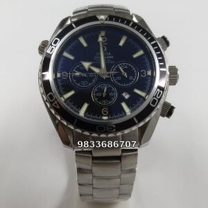 Omega Seamaster Co-Axial Chronograph Black Dial Watch