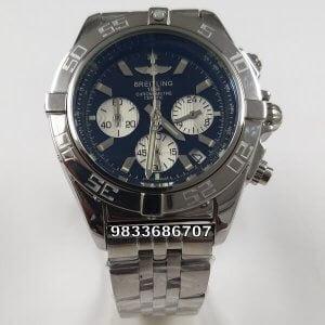 Breitling Chronomat-44nyx Steel Black Dial Chronograph Men's Watch