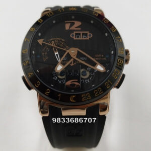 Ulysse Nardin El Toro Black Rose Gold Swiss Automatic Watch
