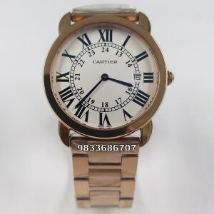 Cartier Ronde Solo De Rose Gold Women's Watch