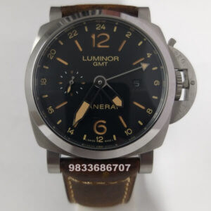 Luminor Panerai GMT Black Dial Swiss Automatic Watch