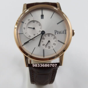 Piaget Altiplano Rose Gold White Dial Swiss Automatic Watch