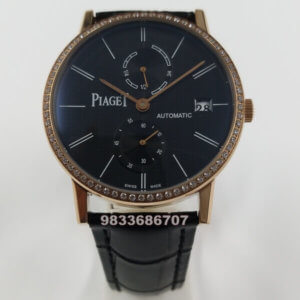 Piaget Altiplano Diamond Blue Dial Swiss Automatic Watch