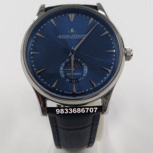 Jaeger Le Coultre Master Ultra Blue Dial Swiss Automatic Watch