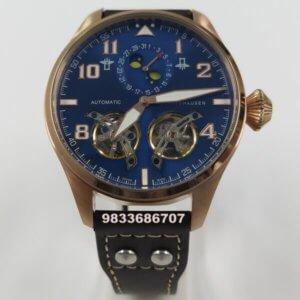 IWC Big Pilot Moonphase Dual Tourbillon Black Dial Swiss Automatic Watch