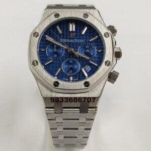 Audemars Piguet Royal Oak Blue Dial Chronograph Women's Watch