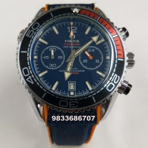 Omega Seamaster Co axial Chronograph Black Dial Watch