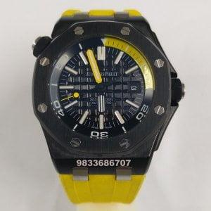 Audemars Piguet Royal Oak Offshore Diver Yellow Swiss Automatic Watch