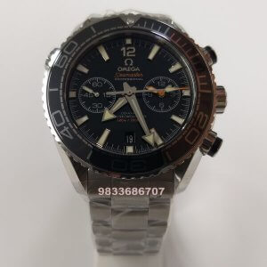 Omega Planet Ocean Chronograph Swiss ETA 2250 Valjoux Automatic Watch