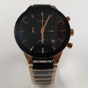 Rado Jubile Centrix Chronograph Ceramic Rose Gold Men's Watch