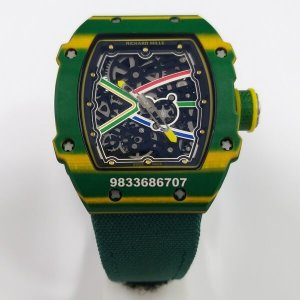 Richard Mille RM 67-02 Green Swiss ETA Automatic Watch