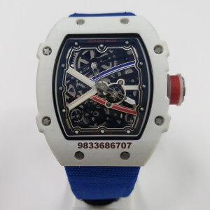 Richard Mille 67-02 White Swiss ETA Automatic Watch
