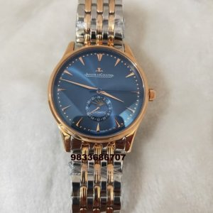 Jaeger Le Coultre Master Control Moon Phase Dual Tone Automatic Watch