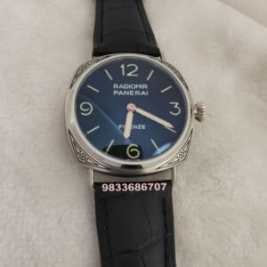 Luminor Panerai Radiomir Firenze Hand Engraved Black Swiss Automatic Watch
