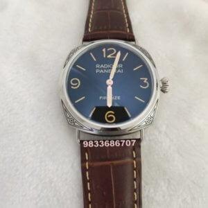 Luminor Panerai Radiomir Firenze Hand Engraved Brown Swiss Automatic Watch