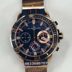 Ulysse Nardin Diver Monaco Chronograph Watch