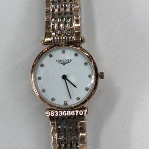 Longines La Grande Classique White Dial Dual Tone Women's Watch