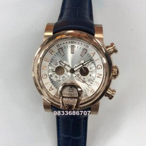 Aigner Bari White Dial Chronograph Men's Watch