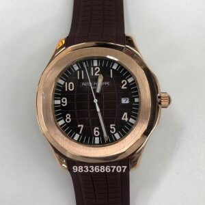 Patek Philippe Aquanaut Brown Dial Swiss Automatic Watch