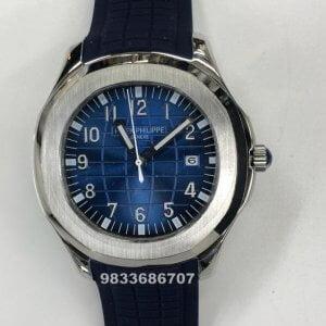 Patek Philippe Aquanaut Blue Swiss Automatic Watch