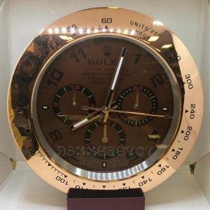 Rolex Daytona Rose Gold Wall Clock