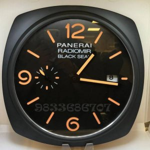 Luminor Panerai Radiomir Black Seal Black Wall Clock