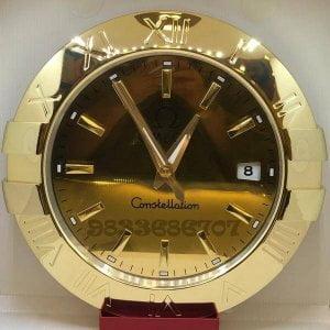Omega Constellation Gold Wall Clock