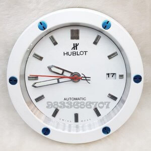 Hublot Classic Fusion White Wall Clock