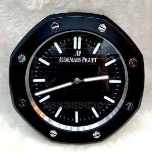 Audemars Piguet Royal Oak Black Dial Wall Clock