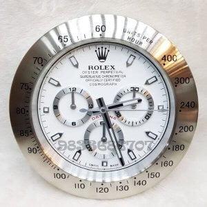 Rolex Daytona White Dial Wall Clock