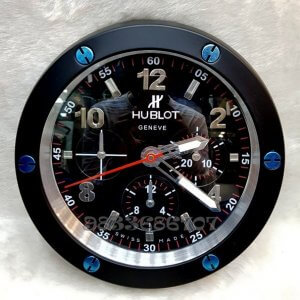 Hublot Big Bang Black Wall Clock