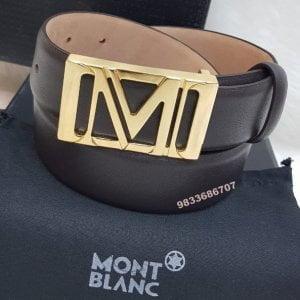 Mont Blanc Men's Belt