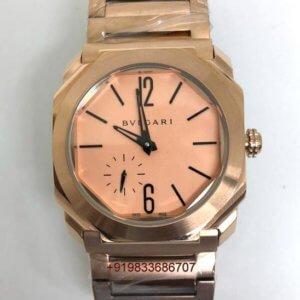Bvlgari Octo Finisimo Rose Gold Swiss Automatic Watch