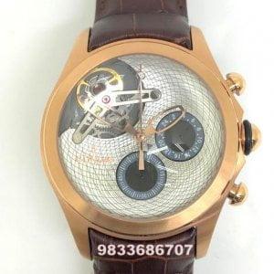 Corum Bubble Tourbillon White Dial Swiss Automatic Watch