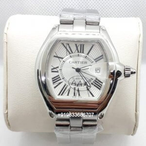 Cartier Roadstar 2510 Steel White Dial Women's Watch
