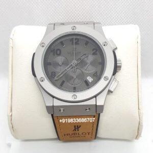 Hublot Big Bang Silver Grey Dial Chronograph Watch