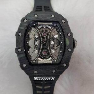 Richard Mille RM 5301 Tourbillon Poblo Mac Donough Full Black Swiss ETA Automatic Watch
