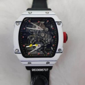 Richard Mille RM 2702 Tourbillon Rafael Nadal Black Rubber Strap Swiss ETA Automatic Watch