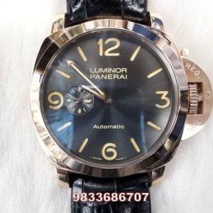 Luminor Panerai Golden Black Dial Swiss Automatic Watch