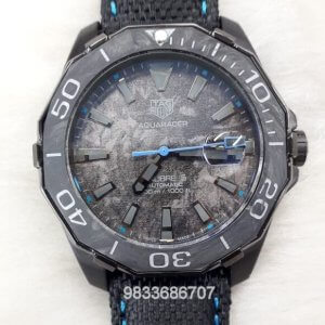 Tag Heuer Carbon Aquaracer Blue Swiss Automatic Watch