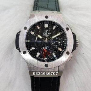 Hublot Big Bang Steel Bezel Black Dial Swiss ETA 7750 Valjoux Automatic Movement Watch