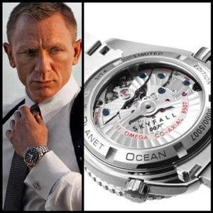 Omega Seamaster Planet Ocean 007 Skyfall Edition Swiss Automatic Watch