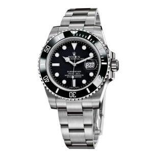 Rolex Submariner Black Dial Swiss ETA 7750 Valjoux Movement Automatic Watch