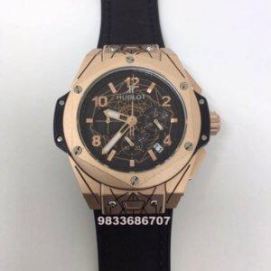 Hublot Big Bang Unico Sang Bleu Chronograph Rose Gold Men's Watch
