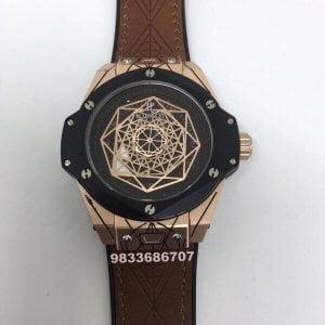 Hublot Big Bang Unico Sang Bleu Black Dial Swiss Automatic Watch