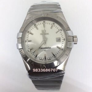 Omega Constellation Double Eagle Full Steel Men's Watch