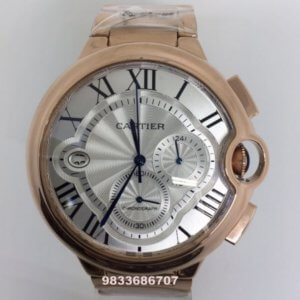 Cartier Ballon Bleu De Swiss Chronograph Men's Watch