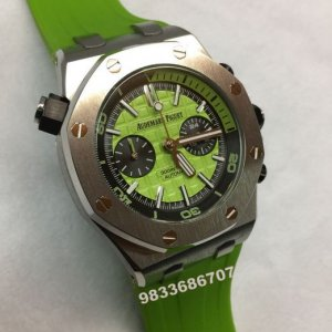 Audemars Piguet Royal Oak Offshore Diver Green Men's Watch