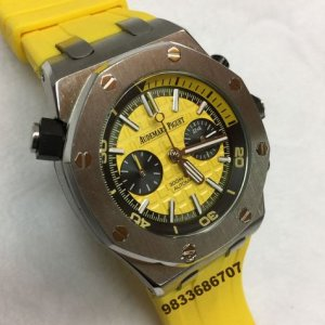 Audemars Piguet Royal Oak Offshore Diver Yellow Men's Watch